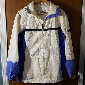 Columbia Womens Windbreaker Jacket Sz S